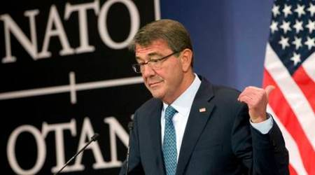 US Defence secretary Carter hits Russia for attacking US rebels inSyria