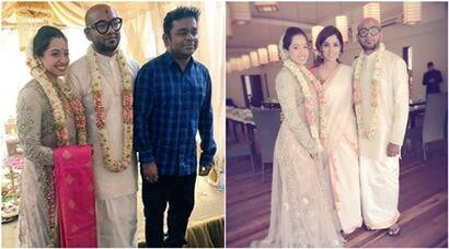 benny dayal, Catherine Thangam, benny Catherine, benny Catherine Thangam, Catherine Thangam marriage, benny dayal wedding, benny dayal marriage pics, benny dayal wedding pics, benny dayal marriage photos, benny dayal wife, benny dayal bride, ar rahman, neeti mohan, entertainment