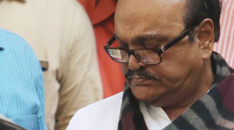 Chhagan Bhujbal, bhujbal, bhujbal in jail, NCP leader, Arthur Road jail, bhujbal medical test, JJ hospital, money case, money laundering case, Electrophysiology, indian express news, india news