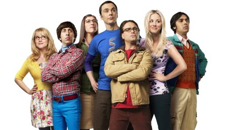 The Big Bang Theory star cast shot for the sitcom's season 12 finale episode