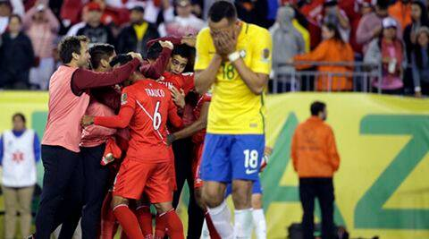 Copa America: Brazil crash out of the tournament after Peru  upset