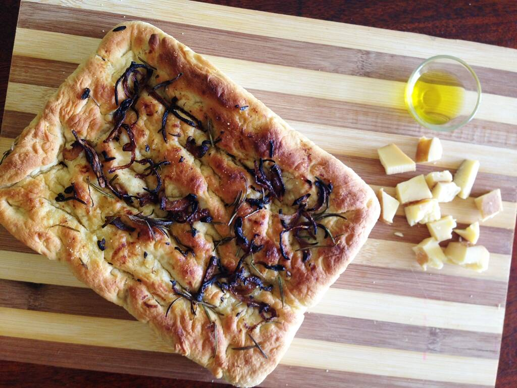 Bake This Soft Focaccia Bread This Weekend Lifestyle News The Indian Express