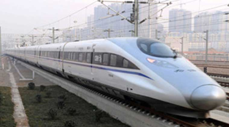 bullet train, bullet train mumbai, mumbai ahmedabad bullet train, modi pet project, pm modi, narendra modi, prime minister, maharashtra chief minister, devendra fadnavis, IFSC, International Financial Services Centre, maharashtra gujarat bullet train project, bullet train in india, bandra kurla complex, BKC, mumbai news, maharashtra news, india news, indian express