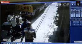 CCTV Footage Of Karol Bagh Daylight Robbery Attempt, Two People Shot At