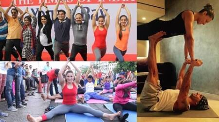 When Arbaaz Khan, Tara Sharma, Bipasha Basu and other celebs showed off their yoga skills
