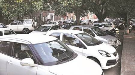 Chandigarh Sector 17: Norms flouted, 4 parking lots getchallans