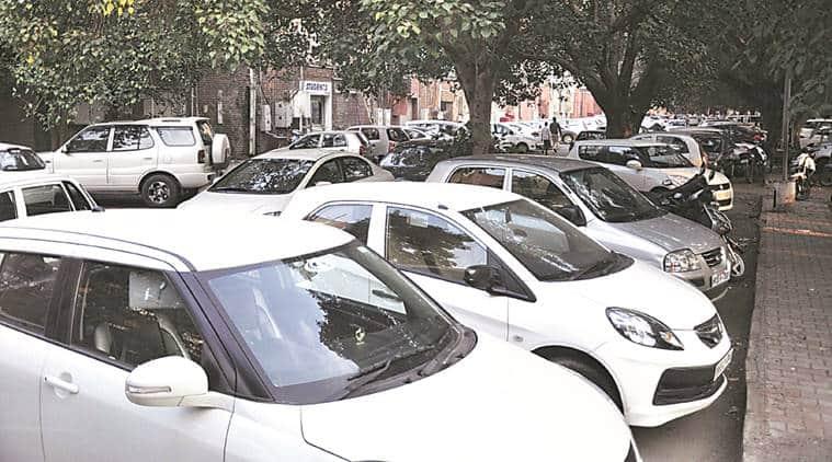 Chandigarh parking, Chandigarh traffic, Chandigarh sector 17, Chandigarh municipal corporation, Chandigarh roads, Chandigarh infrastructure