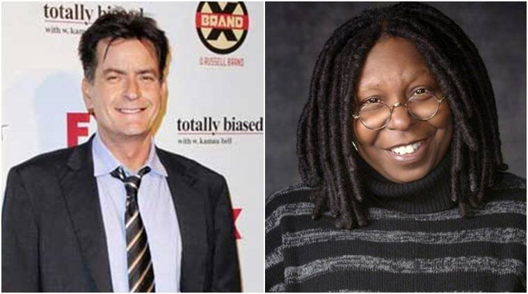 Charlie Sheen and Whoopi Goldberg teamed up for a new 9/11 terror attack drama.