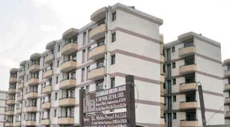 CHB, Chandigarh Housing Board, CHB applications, Self Financing Housing Scheme, chandigarh construction, chandigarh poor quality construction, Resident's Welfare Association, chandigarh news