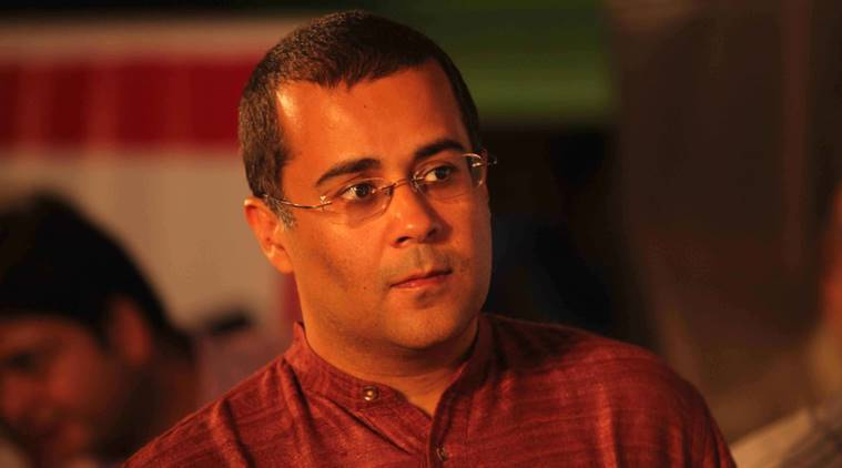 chetan bhagat, du course on fb posts, facebook, delhi university, du syllabus, Choice Based Credit System, indian express