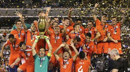 Chile retain Copa America with shootout win over Argentina