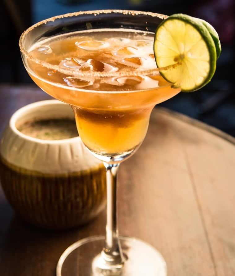 Chilli Puli cocktail at Monkey Bar. (Photo: Supratim Ghosh)