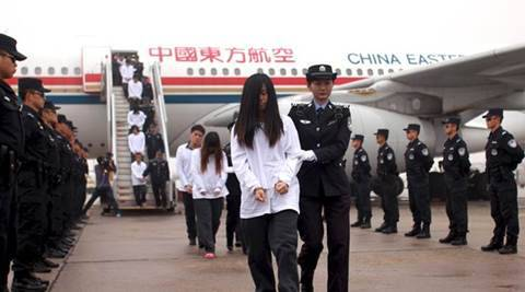 Chinese police arrested inidviduals cryptocurrencies bitcoin