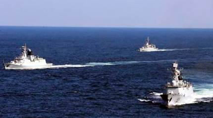 US carrier group patrols in tense South China Sea