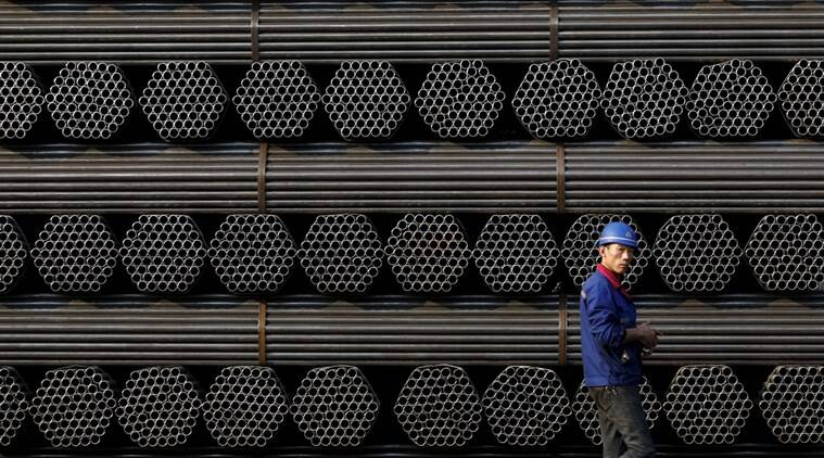 china steel, steel, steel futures, iron ore futures, china securities, rebar, chines steel output, China's Tianjin port, China Iron and Steel Association, business, asia markets, asia biz news, business news,