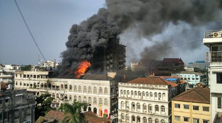 Mumbai Colaba Fire Live Pictures, Videos From Accident -8614