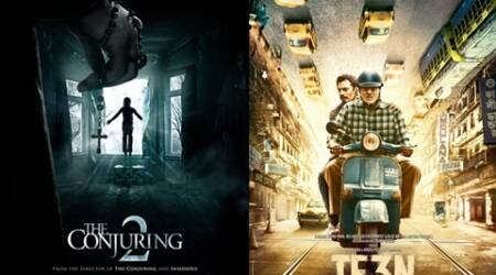 The Conjuring 2 box office collections, The Conjuring 2 box office business, The Conjuring 2 movie box office collections, The Conjuring 2, TE3N box office collections, TE3N box office business, TE3N movie box office collections, TE3N, TE3N box office grossings, Amitabh Bachchan, Nawazuddin Siddiqui, TE3N Box office earnings, TE3N movie first day collections, TE3N movie opening day collections, Amitabh Bachchan TE3N movie, Amitabh Bachchan TE3N movie collections, Entertainment news