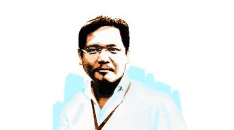Conrad Sangma, Conrad Sangma digital India day, Conrad Sangma good friday, good friday digital india day, digital india day, good friday, Modi digital india day, Sangma Modi, India news, Indian Express