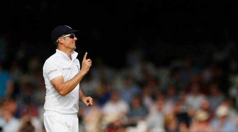 Cook became the youngest player and first English batsman to reach the landmark of 10,000 Test runs.(source: Reuters)