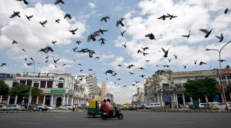 Connaught Place vehicle free, Connaught Place inner circle vehicle free, Connaught Place, New Delhi Municipal Council (NDMC), Delhi parking, CP vehicle free, indian express news