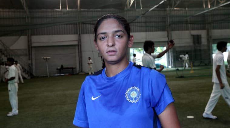 How Sachin's letter got Harmanpreet a job , Harmanpreet Kaur Sachin Tendulkar, ICC Women's World Cup 2017, Harmanpreet Kaur, Indian Women's Cricket Team, Latest Sports News, Latest Cricket News, Indian Express News