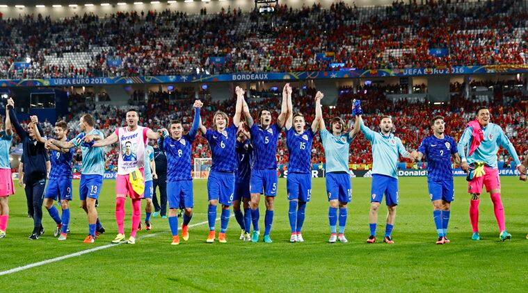 Croatia defeated Spain 2-1 thus topped the group. (Source: Reuters)