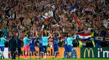 Euro 2016: Croatia hand Spain first loss at Euros since 2004