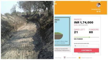 Can crowdfunding help build a canal? A village in parched Marathwada thinks so