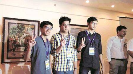 With ranks 1, 3 and 9, Jaipur on a JEE high