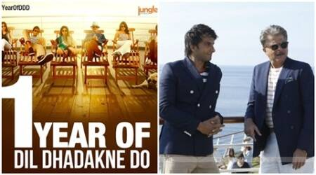 Dil Dhadakne Do clocks one year, Ranveer Singh ecstatic