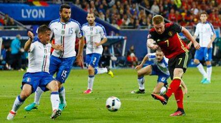 Euro 2016: Kevin de Bruyne could do better, rues Belgium coach Marc Wilmots