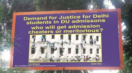 delhi, delhi news, delhi university, BJP, delhi BJP, reservation for delhi students, DU cut off, DU admission, delhi students, indian express news