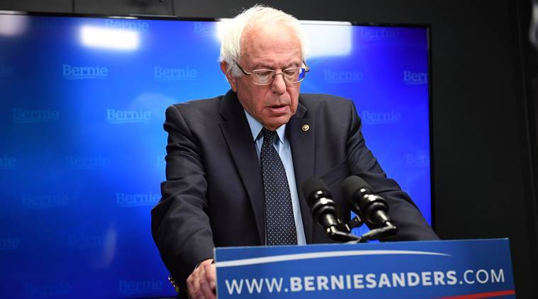 Bernie Sanders, DNC, Bernie Sanders land deal, Sander's wife, FBI Bernie Sanders, FBI Bernie Sander's wife, Jane Sanders, Indian express, India news, Latest news