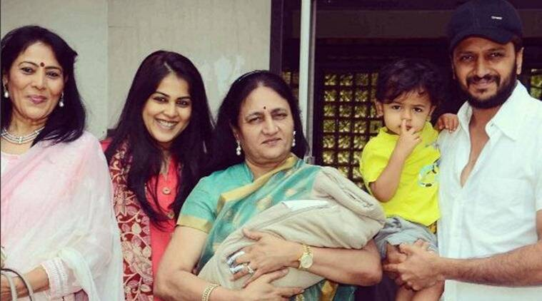 Riteish Deshmukh, Genelia D'Souza, Rahyl Riteish Deshmukh, Genelia D'Souza son, Genelia D'Souza new born, Genelia D'Souza kid name, Genelia D'Souza second son name, Riteish Deshmukh son, Riteish Deshmukh new born name, Riteish Deshmukh son name, Riteish Deshmukh news, entertainment news