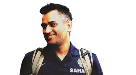 MS Dhoni - The Smiling Buddha