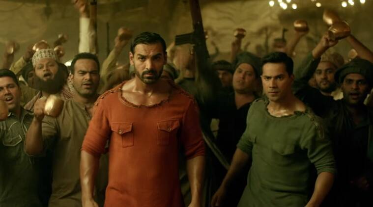 Dishoom, Dishoom kripan, Dishoom kripan like dagger, Dishoom controversy, Dishoom sikh community, Dishoom movie, john Abraham, Varun Dhawan, Jacqueline fernandez, Jacqueline fernandez short outfit, sau tarah ke song, Dishoom song, Kripan in Dishoom song, Entertainment news