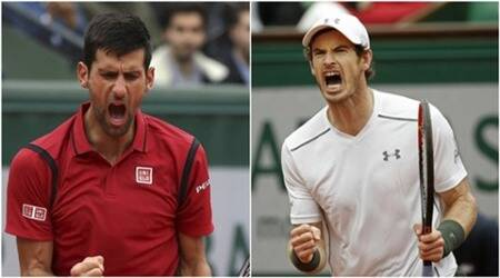 French Open: Djokovic, Serena, Murray enter finals; Paes-Hingis lift mixed-doubles title