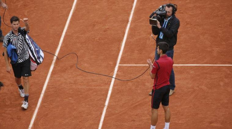 French Open 2016, French Open 2016 semifinal, Dominic Thiem, Novak Djokovic, Thiem Djokovic, Dominic Thiem Novak Djokovic, Djokovic vs Thiem, French Open semis, French Open 2016 semis, Tennis News, Tennis