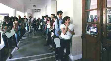 delhi university, delhi university cut- offs, first cutt-off, delhi university, du cut offs, du admissions, du first cut off releases on wednesday, du students, du news, delhi university updates, latest news, rducation news, delhi colleges admission