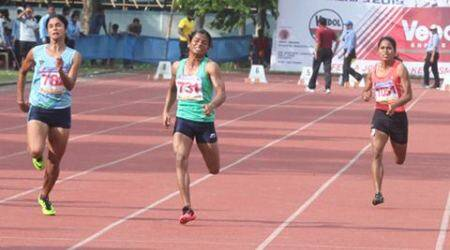 Dutee Chand on track to Rio 2016 Olympics, village celebrates