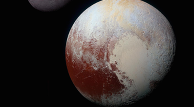 Pluto, ocean in pluto, ice in pluto, Brown University, New Horizons, research on Pluto