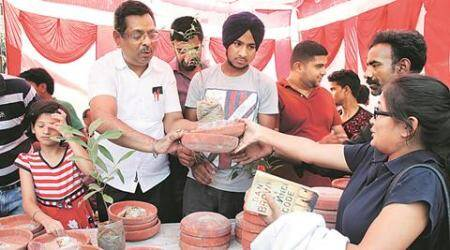 Chandigarh: Water bowls, feed, saplings — pet lovers' association brings relief to birds