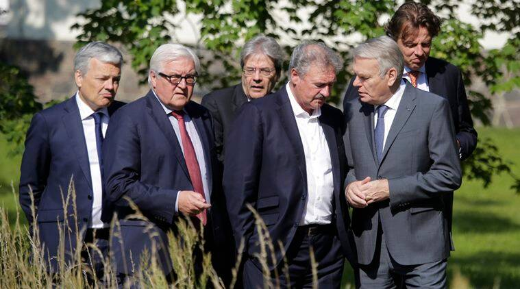 European union, European Union Leaders, Brexit impact, Brexit, Brexit effect, Britain leaves EU, Britain out of EU, Britain EU, EU, Frank-Walter Steinmeier, Jean-Marc Ayrault, world news, European Union news