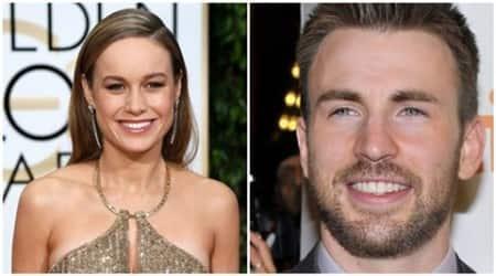 Chris Evans backs Brie Larson for CaptainMarvel