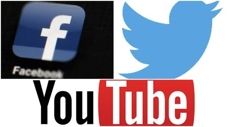 facebook twitter and youtube major news sources study technology