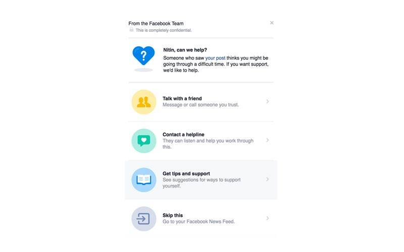 Facebook, Facebook Suicide prevention tool, Facebook tool to report suicidal posts, Help friends on Facebook, Facebook tools, Facebook Tool help depressed friend, social media, technology, technology news