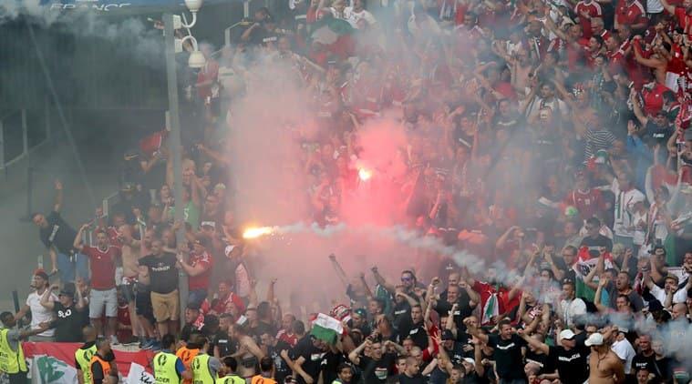 Euro 2016, Euro cup, Euro fans, UEFA, Croatia, Croatia UEFA, Croatia Euro 2016, Turkey, Turkey UEFA, Turkey fans, Euro fireworks, fireworks, Euro blast, UEFA disciplinary charges, Football