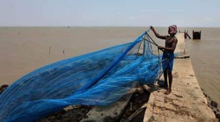 Sri Lankan Navy arrests four Indianfishermen