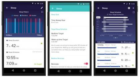Fitbit, Fitbit sleep schedule, Fitbit app, Fitbit sleep schedule feature, Fitbit sleep tracker, fitness tracker, track sleep, gadhet, apps, technology, technology news