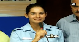 Flying A Solo Aircraft Gives You A Special Feeling- Flying Cadet Avani Chaturvedi